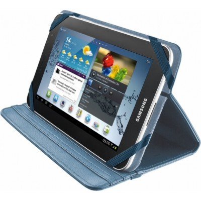 "TRUST Verso Univ folio Stand  7-8"" tablets, blue"