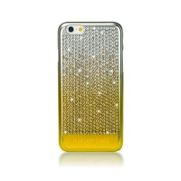 Zadní kryt Bling My Thing Vogue Brilliant Gold pro Apple iPhone 6/6S, MADE WITH SWAROVSKI® ELEMENTS