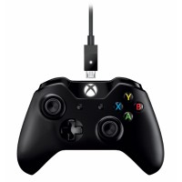 Microsoft Xbox One Gamepad + kabel pro Windows,USB