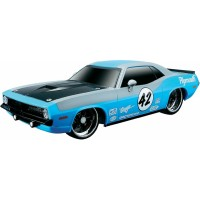RC model Maisto Plymouth Hemi Barracuda 1970, 1:24, RtR