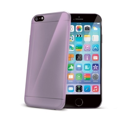 Silikonový obal Celly Ultrathin pro Apple iPhone 6, - fialový