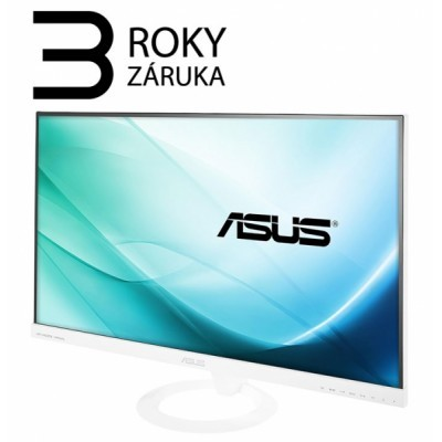 "27"" LED ASUS VX279H-W -HDMI/MHL,D-Sub,rep,IPS,whit"