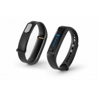 Fitness náramek Technaxx ACTIVE, OLED, Bluetooth 4.0,  Android/iOS, černý (TX-38)