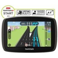 TomTom START 40 Europe LIFETIME mapy, 4.3""