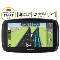 TomTom START 60 Europe LIFETIME mapy, 6""
