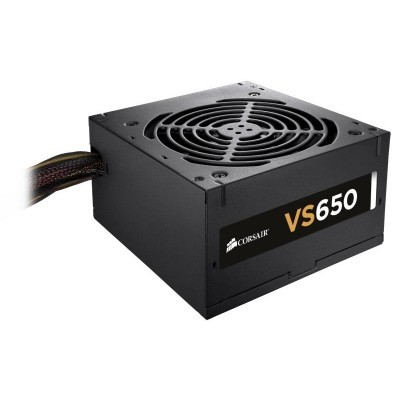 Corsair zdroj 650W VS series VS650, 80 PLUS White, 120mm ventilátor