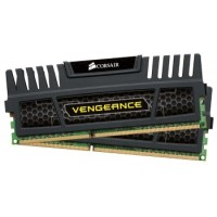 Corsair Vengeance 16GB (Kit 2x8GB) 1600MHz DDR3, CL9, černý chladič, XMP 1.3