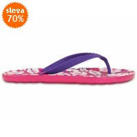 Crocs Chawaii Tropical Print Flip