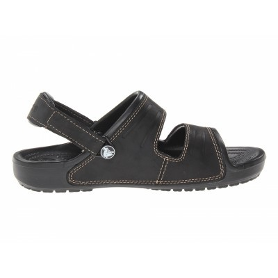 Crocs Yukon Two-strap Sandal Men - Black, M11 (45-46)
