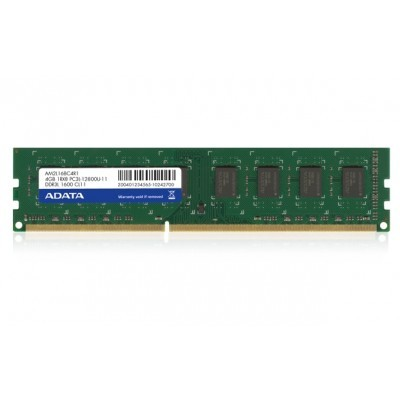 8GB DDR3L-1600MHz ADATA CL11 1,35V