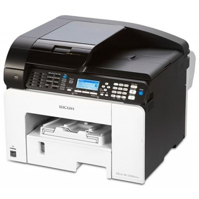 RICOH SG 3110SFNW  - 29 PPM, Gel MFP with Print, Scan, Fax, Copy, Network & WIFI
