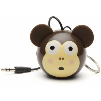 Reproduktor KITSOUND Mini Buddy Monkey, 3,5 mm jack