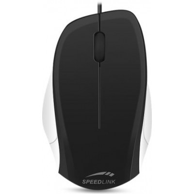 LEDGY Mouse - wired, black-white