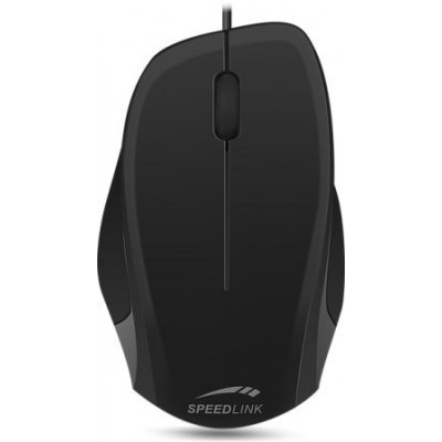 LEDGY Mouse - wired, black-black