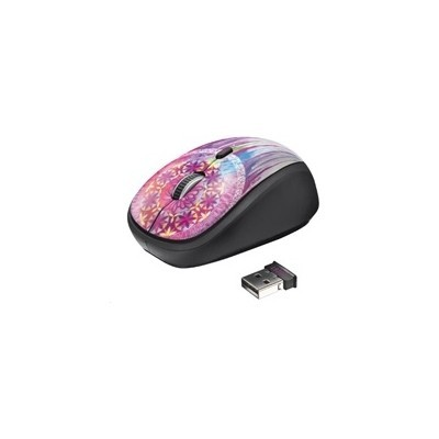 myš TRUST Yvi Wireless Mouse - dream catcher