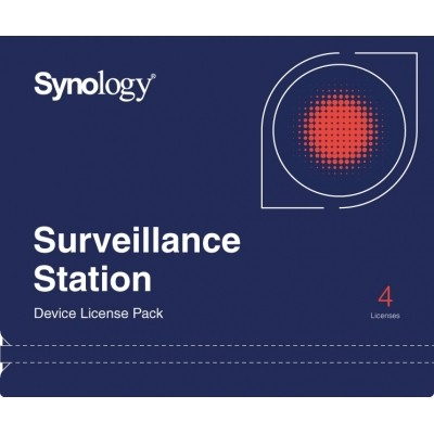 Synology Camera License Pack, 4 licence