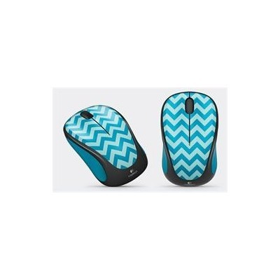 Logitech® Wireless Mouse M238 Play Collection - EMEA - TEAL CHEVRON
