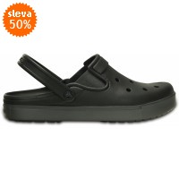 Crocs CitiLane Clog - Black/Graphite, M6/W8 (38-39)