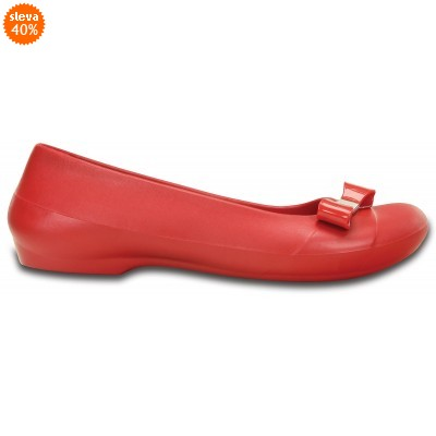 Crocs Gianna Bow Flat Pepper, W7 (37-38)