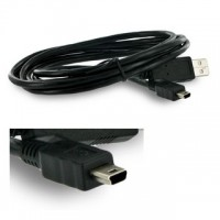 4World mini USB (5-pin) kabel, A-B, USB 2.0, 1.5m