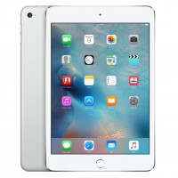 Apple iPad Mini 4 Wi‑Fi + Cellular, 16GB - stříbrný