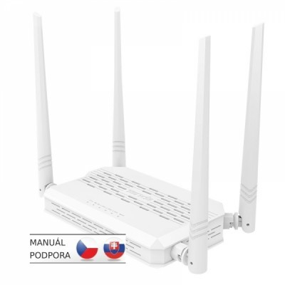 Tenda FH330 Wireless-N 300Mbps Router, 4x 5dBi ant