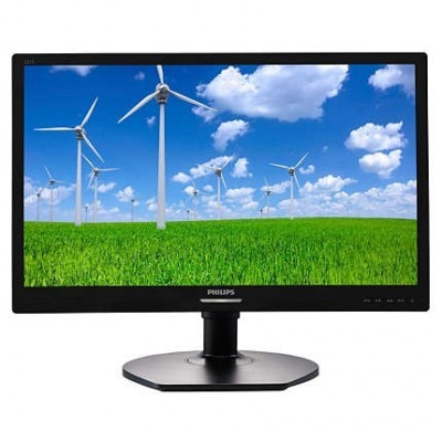 "22"" LED Philips 221S6QMB-FHD,IPS,DVI,rep,piv"