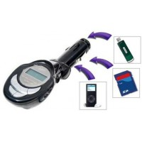 MP3 / FM transmitter - přehrávač MP3 do auta (USB/ SD/ Line-In) Hutermann CMP3-8