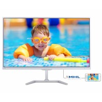 "27"" LED Philips 276E7QDSW - FHD,PLS,HDMI,MHL,bílý"