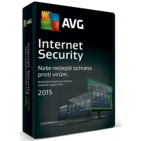AVG Internet Security 2016, 1 lic. (24 měs.) - krabicová licence