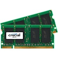 SO-DIMM kit 2GB DDR2-800 MHz Crucial CL6, 2x1GB