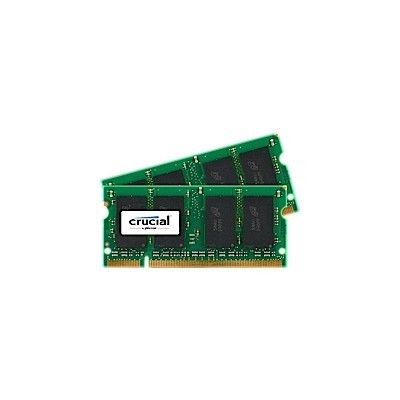 SO-DIMM kit 8GB DDR2-800 MHz Crucial CL6, 2x4GB