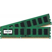 8GB DDR3L - 1600 MHz Crucial CL11 UDIMM kit 1.35V/1.5V, 2x4GB
