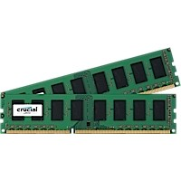 16GB DDR3L - 1600 MHz Crucial CL11 UDIMM kit 1.35V/1.5V, 2x8GB