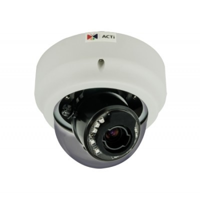 ACTi B62,Z.Dome,5M,ID,f9-22mm,PoE/DC,WDR,IR