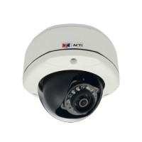ACTi E73A,F.Dome,5M,OD,f2.93mm,PoE,WDR,IR