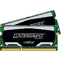 SO-DIMM 8GB kit DDR3 - 1866 MHz Crucial Ballistix Sport CL10 SR 1,35V, 2x4GB