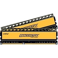 8GB kit DDR3 - 2133 MHz Crucial Ballistix Tactical CL11 UDIMM 1,65V, 2x4GB