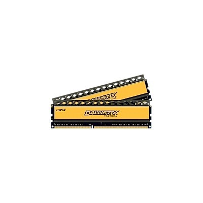 16GB kit DDR3 - 1866 MHz Crucial Ballistix Tactical CL9 UDIMM 1,5V, 2x8GB