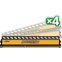 32GB kid DDR3 - 1600 MHz Crucial Ballistix Tactical LP CL8 UDIMM 1,35V, 4x8GB