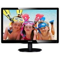 "19"" LED Philips 196V4LAB2-1366x768,DVI,200cd,rep"