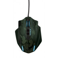 myš TRUST GXT 155C Gaming Mouse - green camouflage