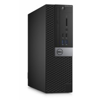 Dell Optiplex 3040S i3-6100/4GB/500GB/Intel HD/MCR/HDMI/DP/USB/RJ45/DVD-RW/W7P+W10P/3RNBD/Černý