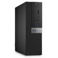 Dell Optiplex 7040S i5-6500/8G/128SSD/HD/HDMI/DP/USB/RJ45/W7P+W10P/3RNBD/Černý