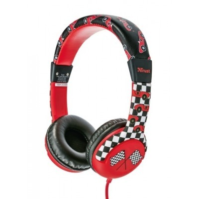 náhlavní sada TRUST Spila Kids Headphone - car