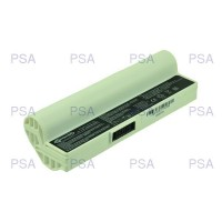 2-Power baterie pro ASUS EEE PC 1000HA, 7,4V, 5200mAh, 4 cells, White