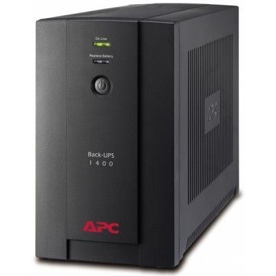APC BACK-UPS 1400VA, 230V, AVR, French Sockets