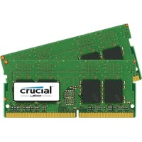 SO-DIMM kit 8GB DDR4 - 2400 MHz Crucial CL17 SR x8, 2x4GB