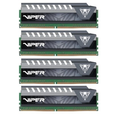 64GB DDR4-2800MHz Patriot CL15 Viper, 4x16GB