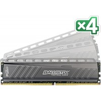32GB DDR4-2666MHz Crucial Ballistix Tactical CL16 DRx8 DIMM, kit 4x8GB